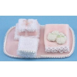 BATHROOM ACCESSORIES, PINK
