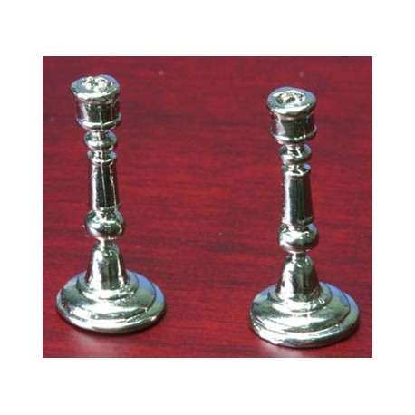 CANDLESTICK, SILVER PLATED, 1PR