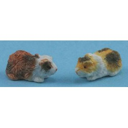 GUINEA PIG, BROWN SET OF 2