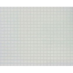 TILE: 1/4 IN SQ, 12X16, WHITE, JR330