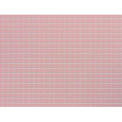 TILE: 1/4 SQ, 12X16, PINK, JR333