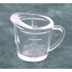 MEASURING CUP, 2 CUP, CLEAR PLASTIC