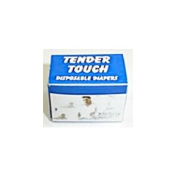 TENDER TOUCH DISPOSABLE DIAPERS