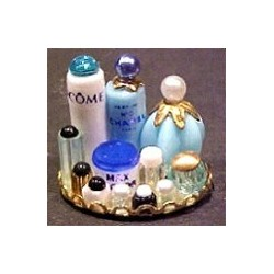 SMALL PERFUME TRAY - BLUE