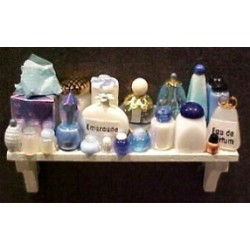 COSMETIC LONG SHELF - BLUE