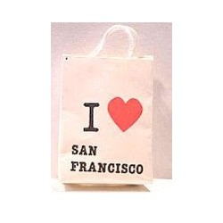 I LOVE SAN FRANCISCO SHOPPING BAG