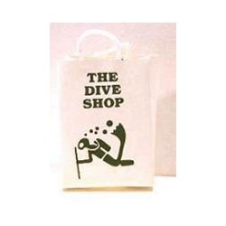 THE DIVE SHOP  SHOPPING BAG