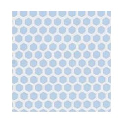 Blue Small Hexagon
