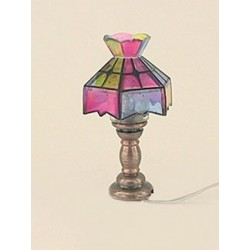 Tiffany Table Lamp/Crown