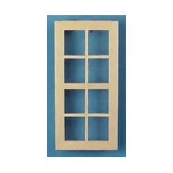 &CLA85023: 1/2 SCALE: STD 8-LIGHT WINDOW