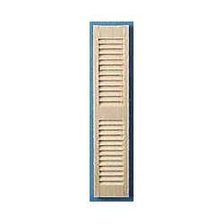 Louvered Shutters Pair