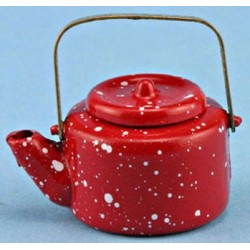 SMALL RED KETTLE