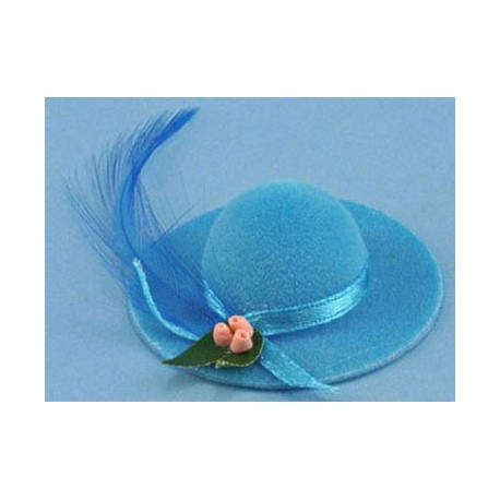 &MH2070: LADIES HAT W/FEATHER