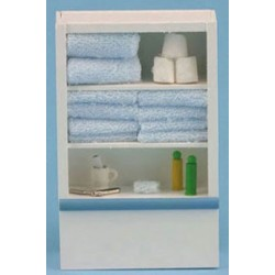 LINEN CUPBOARD, BLUE