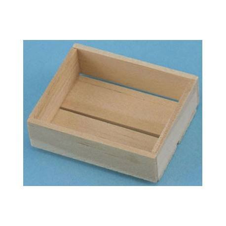 4-SLAT WOOD BOX