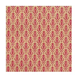 6 pack Wallpaper: Victorian, Red On Gold
