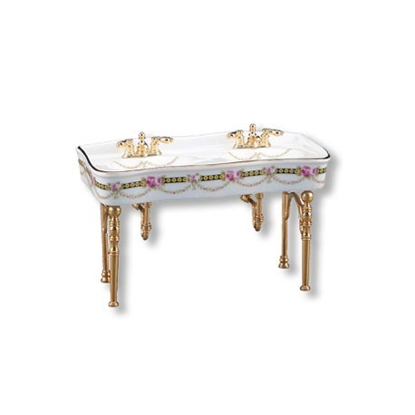 VICTORIAN ROSE DOUBLE SINK