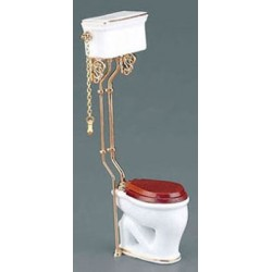 CLASSIC WHITE HIGH FLUSH TOILET