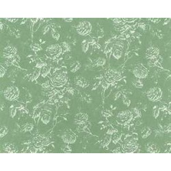 WALLPAPER: TIFFANY REVERSE, SEAFOAM
