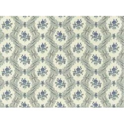 3 pack Wallpaper: Ogee Lace, Blue