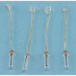 Bi-Pin Bulbs- Std 12V Round Ti