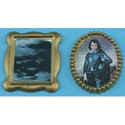 1/2 SCALE MIRROR & PICTURE SET