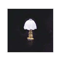 1/4IN SCALE TABLE LAMP/WHITE