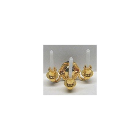 3 CANDLE WALL SCONCE