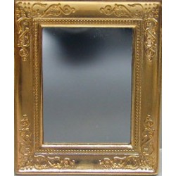MIRROR, METAL FRAME 2 X 2 3/4
