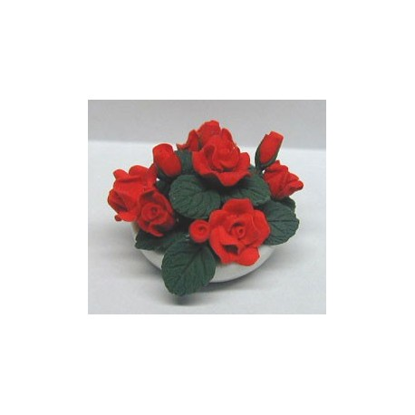 RED ROSES CENTER PIECE