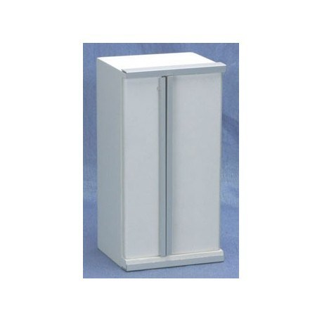 Contempory Refrigerator, White