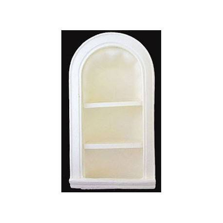 Dollhouse Arched Niche With Shelves Miscellaneous