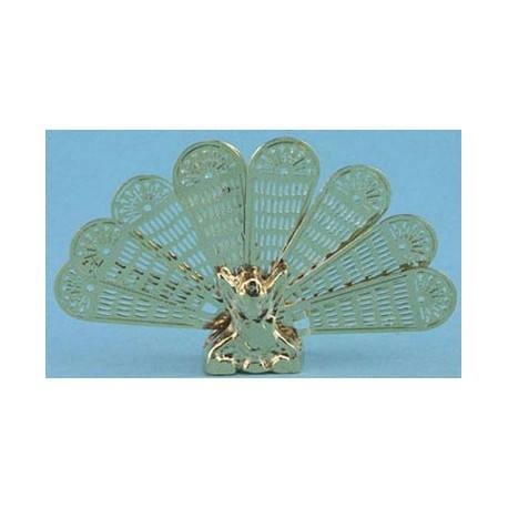 BRASS PEACOCK FIRESCREEN MH3000   4H