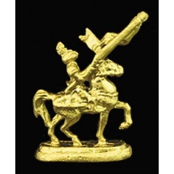 KNIGHT ON HORSE STATUE