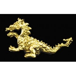 DRAGON STATUE GOLD