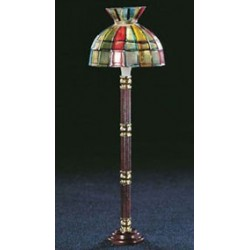 FLOOR LAMP, TIFFANY SHADE