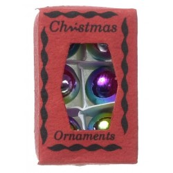 BOX OF ORNAMENTS 3/4INX1-1/8IN