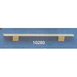 PLATE RAIL SHELF, 6 IN
