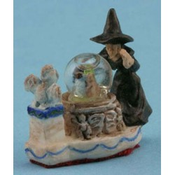 Water Globe, Witch