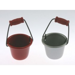 Red Bucket, 1 Pc