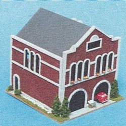 1/144 Scale Oldtime Firehouse