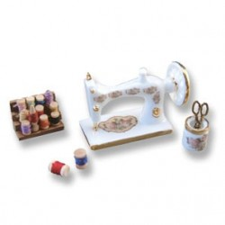 Porcelain Sewing Machine