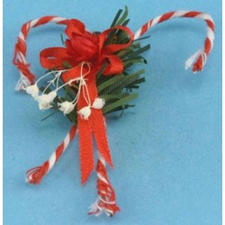 Candy Canes Wall Decoration