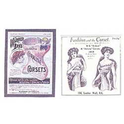 Corset Posters 2 Assorted, Large