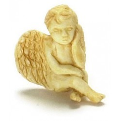 SLEEPING CHERUB 2PCS TAN