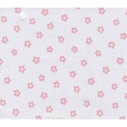 3 pack Prepasted Wallpaper Tiny Pink Flowers On Whte