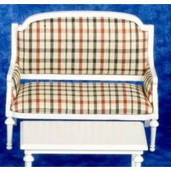 Loveseat White