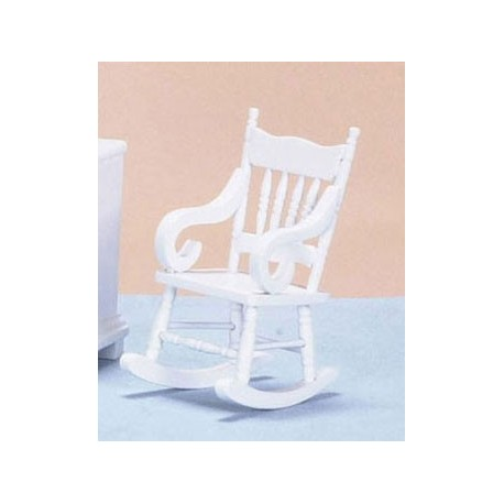 Rocking Chair White Cb