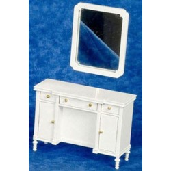 Dresser With Mirror White