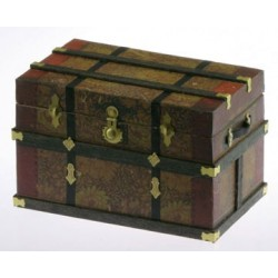 Lithograph Wooden Trunk Kit Wm Morris 1